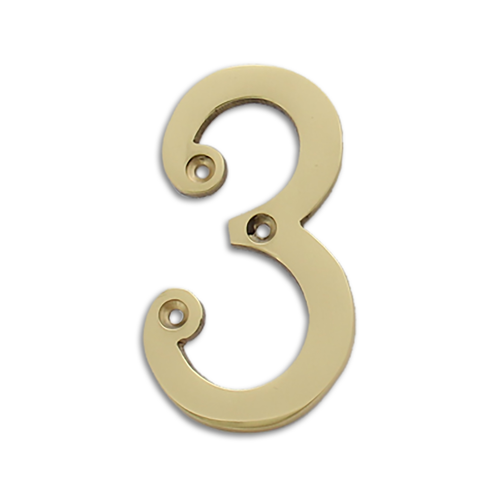 polished brass 4 inch house numbers letters rch supply co With 4 inch house numbers and letters